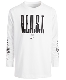 Big Boys Dri-FIT B.E.A.S.T. Long-Sleeve T-Shirt