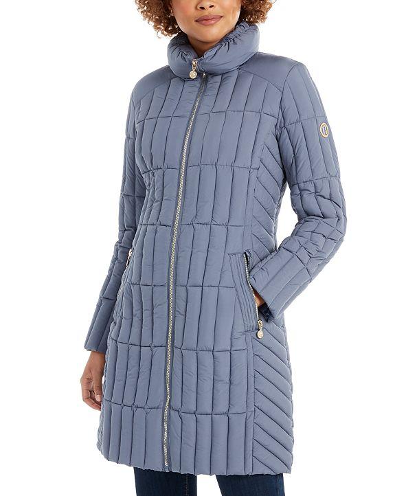 Bernardo Packable Puffer Coat