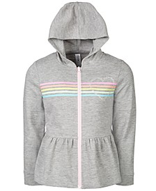 Little Girls Peplum Sweatshirt, Created For Macy's