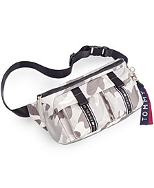 Alisa Camo Nylon Belt Bag