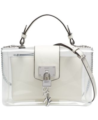 Elissa Flap Clear Shoulder Bag, Created for Macy's