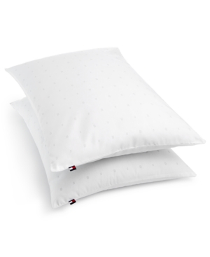 Tommy Hilfiger 2-Pk. Classic Logo Flag 200-Thread Count King Pillow Set