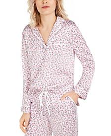 Floral-Print Pajama Top