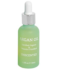 Certified Organic Argan Oil Unscented, 30ml