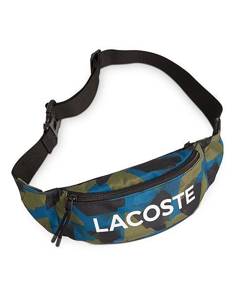 Lacoste Men's Camo Waist Bag