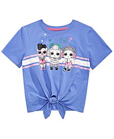 Big Girls LOL Girls Tie-Front Top