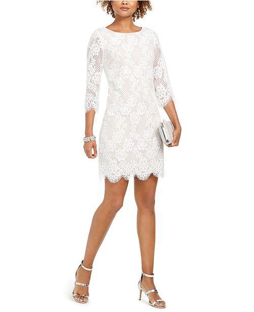 Jessica Howard Lace Shift Dress
