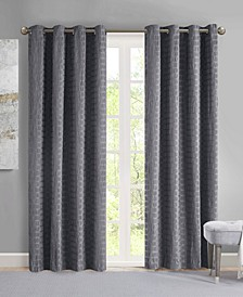 Arcadia Crinkle Matte Satin Curtain Collection