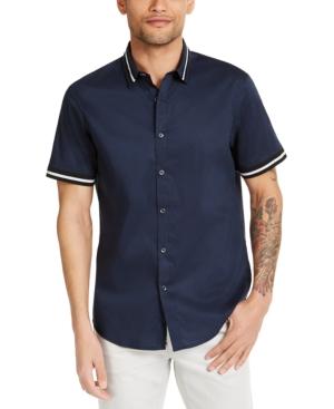 Mens Vintage Shirts – Retro Shirts Inc Mens Big  Tall Knit Track Shirt Created for Macys $29.70 AT vintagedancer.com