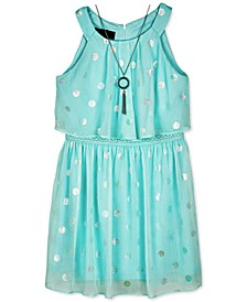 Big Girls Popover Necklace Dress