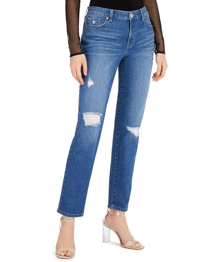 INC International Concepts - Cuffed Boyfriend Jeans