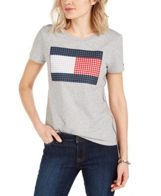 Gingham Flag T-Shirt