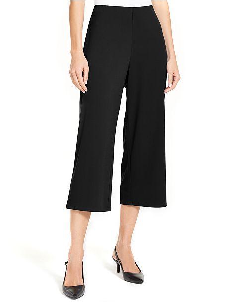 Alfani Pull-On Culotte Pants, Created for Macy's