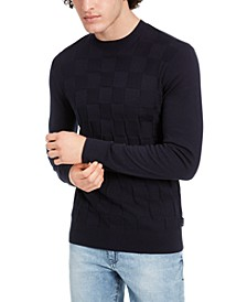 Men's Check Sweater