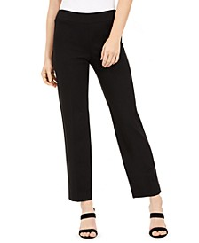 Pull-On Straight-Leg Pants, Created for Macy's
