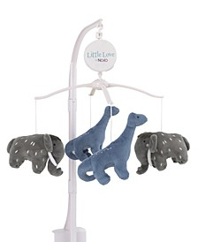 Nojo Woolly Mammoth and Dinosaurs Musical Mobile