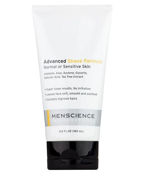 MENSCIENCE Advanced Shave Cream Gel Formula For Men 5.6 FL.OZ