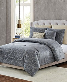 5th Avenue Lux Madison 7-Piece Queen Bedding Set