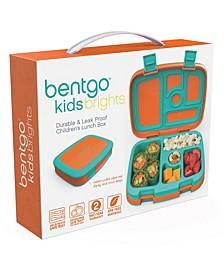 Kids Brights 5-Compartment Bento Lunch Box, Orange
