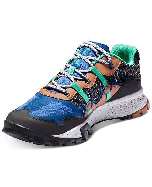 Men's Garrison Trail Low Black Hiking Shoes