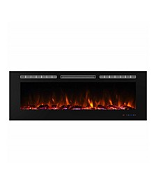 Recessed Wall Mounted Electric Fireplace