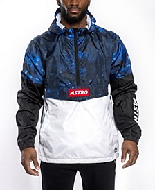 Men's Astroboy Premium Colorblock and All Over Print Anorak Jacket