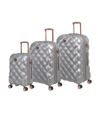 Opulent 3-Piece Hardside Expandable Luggage Set