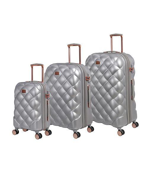 it Girl Opulent 3-Piece Hardside Expandable Luggage Set