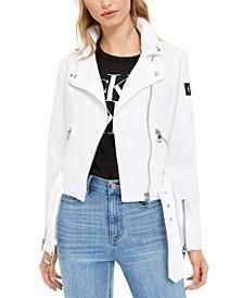 Canvas Moto Jacket