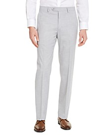 Men's Slim-Fit Stretch Solid Suit Pants, Created For Macy's