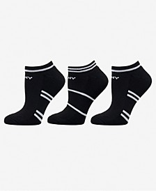 Sport Women's 3-Pk. Half-Cushion No-Show Socks