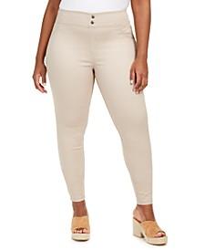 Plus Size Original Smooth Denim Leggings, Created for Macy's