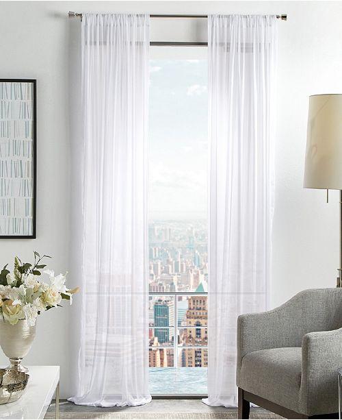 Martha Stewart Collection Martha Stewart Glacier Sheer Curtain Collection
