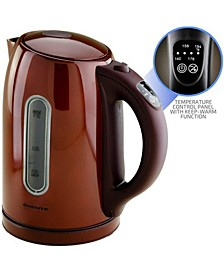 Temperature Control Cordless Electric Kettle