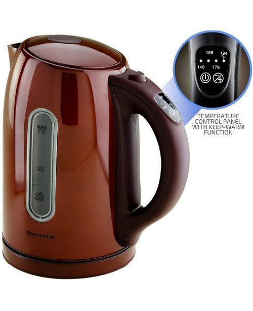 OVENTE Temperature Control Cordless Electric Kettle
