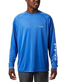 Men's PFG Big & Tall Terminal Tackle Long-Sleeve T-Shirt