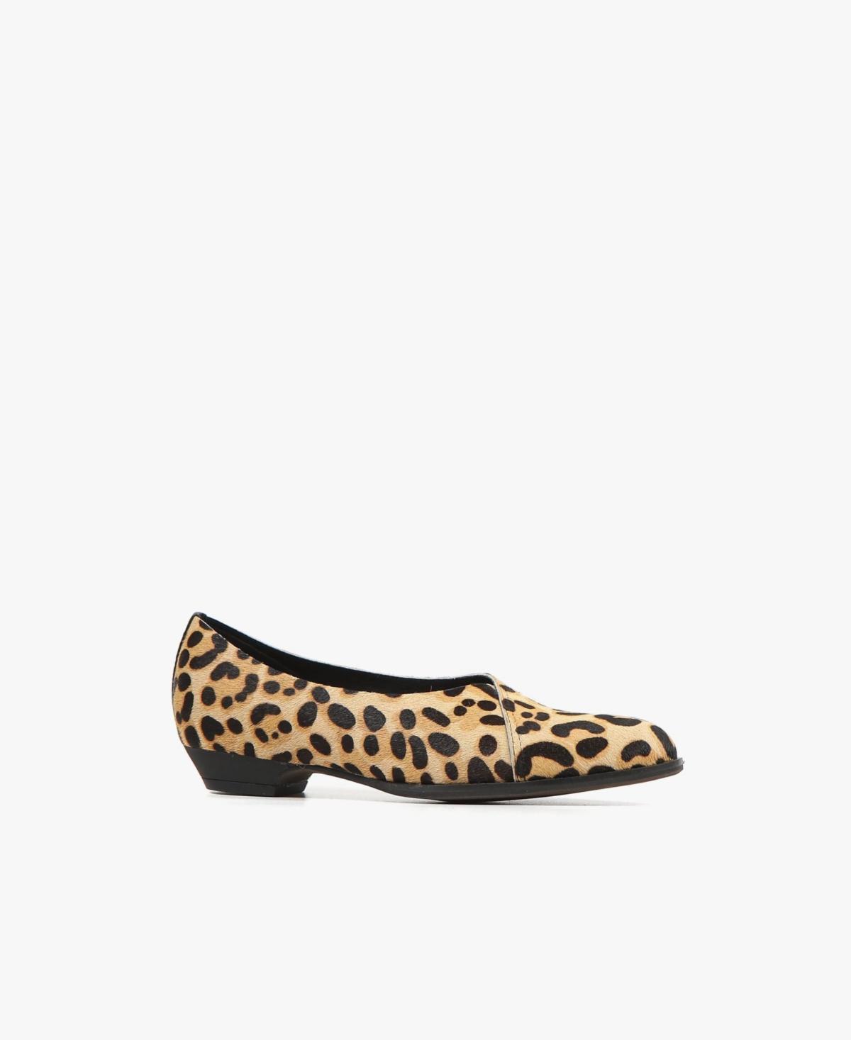 All Black Women's Overlap Flat Women's Shoes