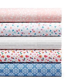 CLOSEOUT! Martha Stewart Collection Essentials 200-Thread Count Sheet Set, Created for Macy's