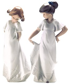Nao by Lladro How Pretty & How Shy Collectible Figurines