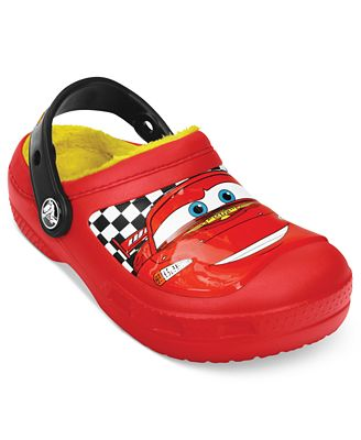 Crocs Kids Shoes, Boys or Little Boys CC Lightning McQueen LND ...
