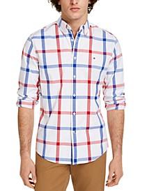 Men's Talbot Plaid Stretch Shirt