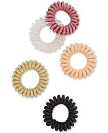 5-Pc. Coil Hair Tie Set, Created for Macy's