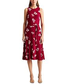 Petite Floral Jersey Dress