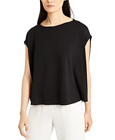 Boat-Neck Oversized Top