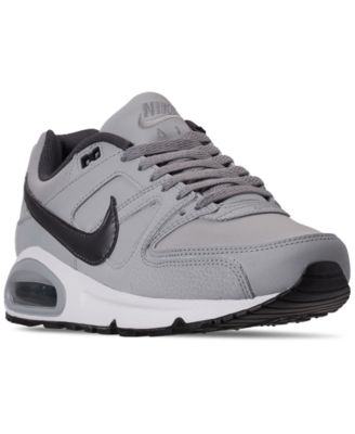 Nike Men's Air Max Command Leather Casual Sneakers from Finish