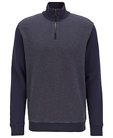 BOSS Men's Zolight Zipper-Neck Sweatshirt
