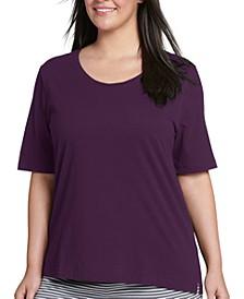 Plus Size Cotton Pajama T-Shirt