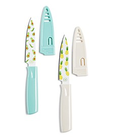 So-Cal Paring Knives with Sheaths, Set of 2, Created for Macy's