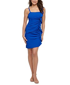 Ruffled Bodycon Dress