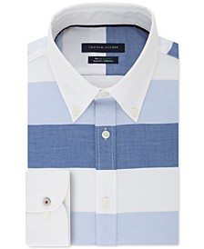 Men's Blue Dawn Stripe Dress Shirt